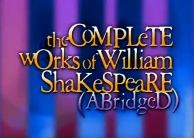 The Complete Works of William Shakespeare (Abridged)  (Inglés)