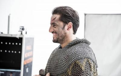 Agustín Pichot es el héroe del calendario. Enrique V