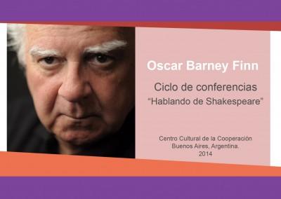 Oscar Barney Finn – «Hablando de Shakespeare»