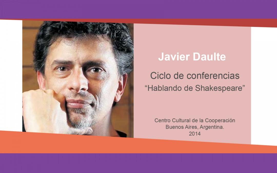 Javier Daulte – «Hablando de Shakespeare»