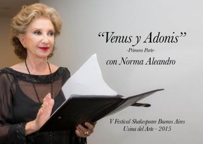 Venus y Adonis – Norma Aleandro