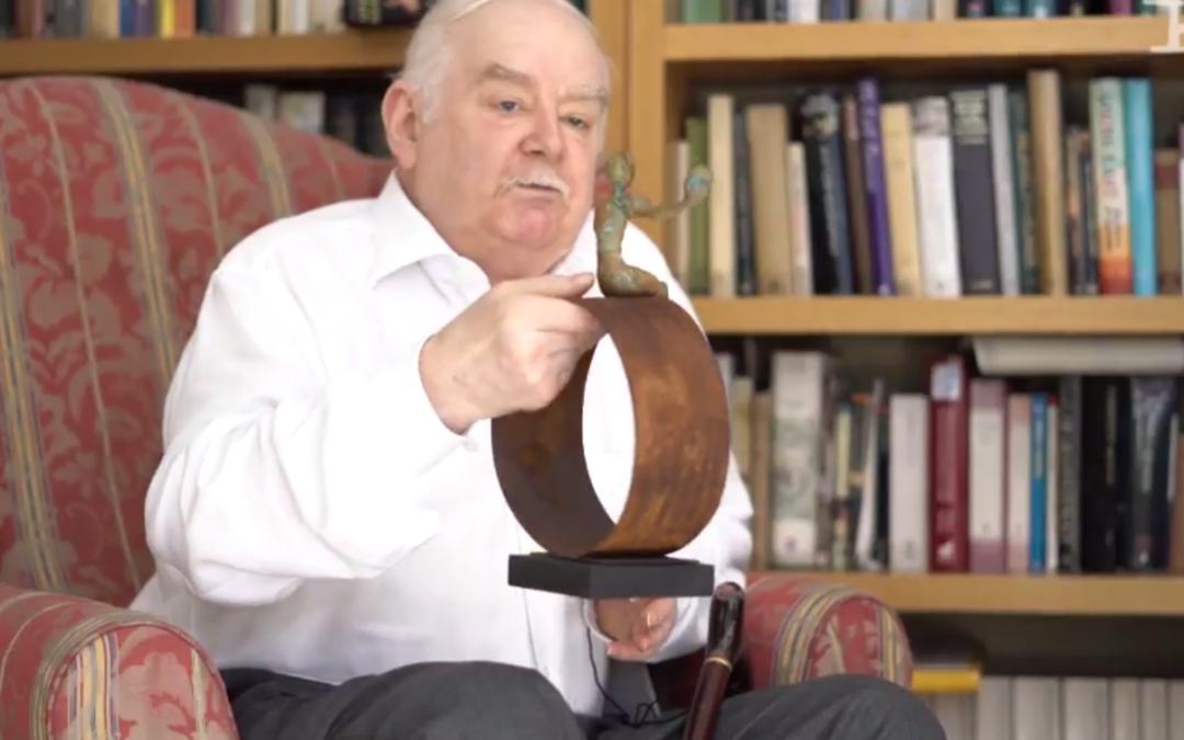 Peter Ackroyd recibe el Premio Shakespeare