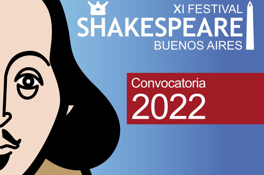 Festival Shakespeare BA: Abierta la convocatoria 2022